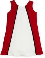 Helena Colorblock A-Line Dress, Size 7-14