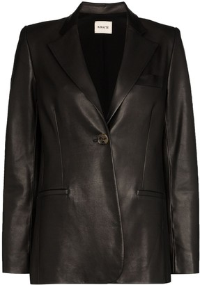 KHAITE Vera single-breasted blazer