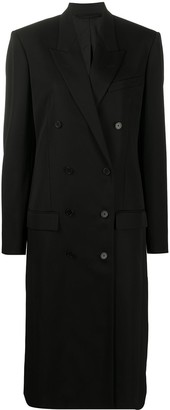 Balenciaga Double-Breasted Fitted Coat