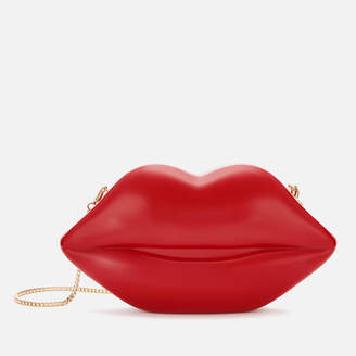 Lulu Guinness Women's Medium Lips Clutch Bag