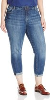 KUT from the Kloth Women's Plus-Size Catherine Slim Boyfriend Jean