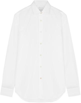 Paul Smith White Cotton Slim-fit Shirt