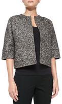 Michael Kors Herringbone Reversible Jacket
