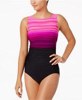 Reebok Desert Rays High-Neck Active One-Piece Swimsuit Women's Swimsuit