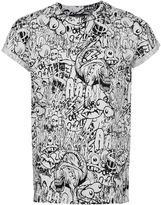 Topman Monsters High Roll T-Shirt