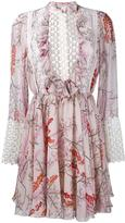 Giambattista Valli longsleeved floral print dress