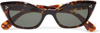 Oliver Peoples Bianka Cat-eye Acetate Sunglasses