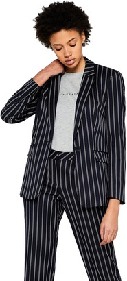 Find. Amazon Brand Women's Blazer with Stripe