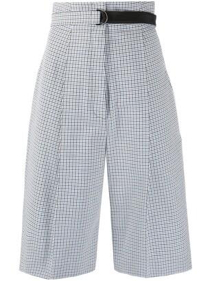 Philosophy di Lorenzo Serafini Drop-Crotch Houndstooth Shorts