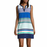 Liz Claiborne Sleeveless Sheath Dress-Talls