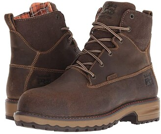 Timberland Hightower 6 Safety Toe WP 400 Insulated (Brown Distressed) Women's Work Boots