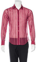 CNC Costume National Suit Print Woven Shirt