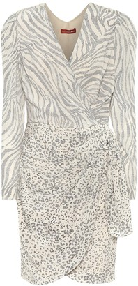 Altuzarra Animal-print silk dress