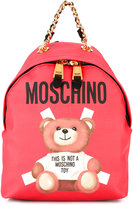 Moschino teddy bear back pack