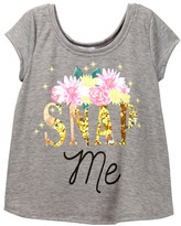 Ten Sixty Sherman Snap Me Tee (Big Girls)