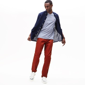 Lacoste Men's Regular Fit Cotton Gabardine Chino Pants