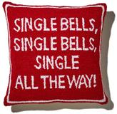 Clever Carriage Home Single Bells Hooked Pillow