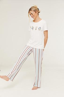 Ardene Super Soft Striped PJ Pants