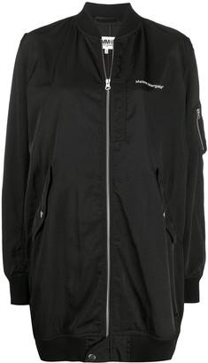 MM6 MAISON MARGIELA Oversized Zip-Front Jacket