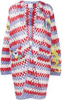 Mira Mikati crochet hooded cardigan