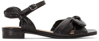 La Redoute Collections Sparkly Bow Heeled Sandals