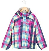 The North Face Girls' Printed Windbreaker Jacket w/ Tags