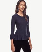 Ann Taylor Ruffle Sweater