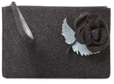 RED Valentino Wool Clutch Bag