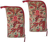The Camouflage Company S/2 Zippered Multi-Purpose Cam' Pouches