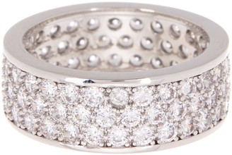 Nordstrom Rack 3-Row CZ Pave Wide Band Ring