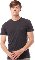 Lacoste Mens Regular Fit Crew Neck T-Shirt In Cotton Carthusian Chine