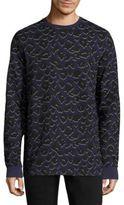 Markus Lupfer Leopard Printed Sweatshirt
