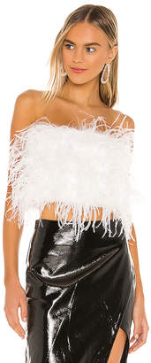 Bardot x REVOLVE Feather Bustier