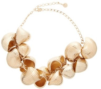 Jacquemus Shell Chain Necklace - Gold