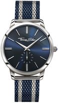 Thomas Sabo Rebel Spirit Blue Bico Mesh Men`s Watch