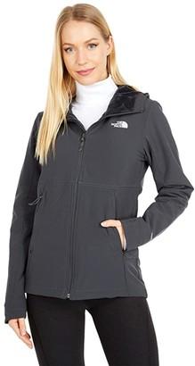 The North Face Shelbe Raschel Hoodie (Asphalt Grey 2) Women's Coat