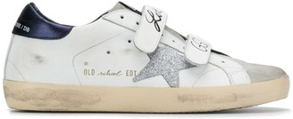 Golden Goose Velcro Low-Top Trainers