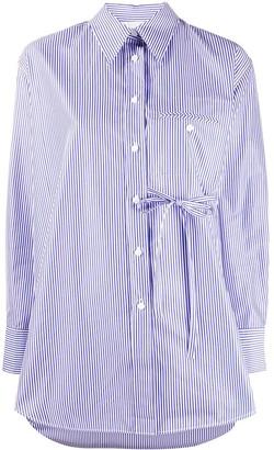Chloé Long Sleeve Striped Shirt