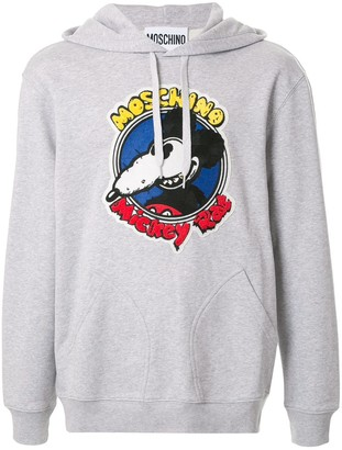 Moschino Mickey rat hoodie