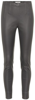 Dorothee Schumacher Raw Excitement leather leggings