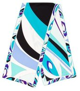 Emilio Pucci Abstract-Printed Woven Scarf