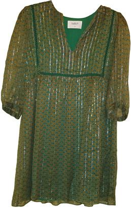 BA&SH Fall Winter 2019 Green Viscose Dresses