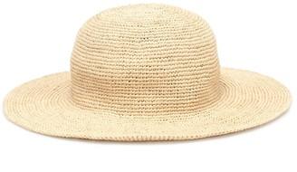 Bonpoint Plage raffia hat