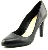 Franco Sarto Caspian Round Toe Leather Heels.