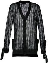 G.V.G.V. crochet bow cardigan