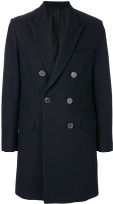 Ami Double Breasted Coat