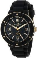 Oceanaut Women's 4AA1C3801 Aqua /Gold Rubber Watch