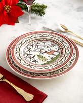Neiman Marcus Christmas Pavoes Salad Plates, Set of 4