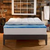 "Sleep Innovations 4"" Memory Foam Mattress Topper"