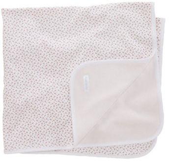 Ralph Lauren Newborn Girls 0-9 Months Reversible Floral-to-Solid Blanket
